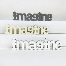 Spunky Fluff -  Tiny Word Magnet- Imagine