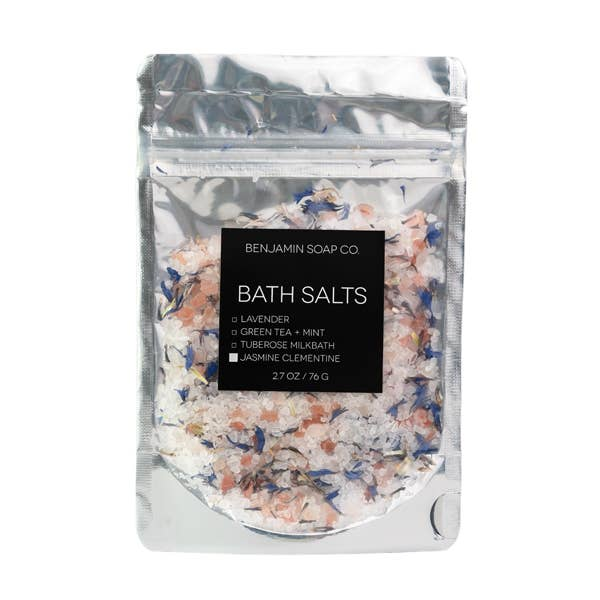 Benjamin Soap Company - Bath Salt Sample Bag