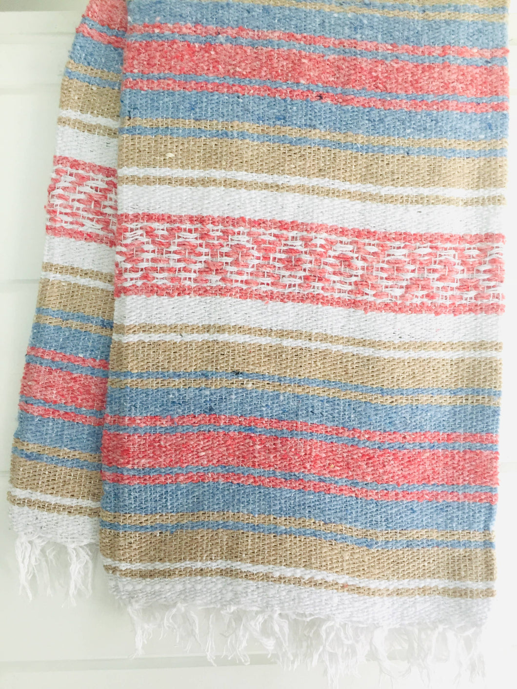 Sea Gypsy California - Pacific Point Beach Blanket l Mexican Blanket l Throw