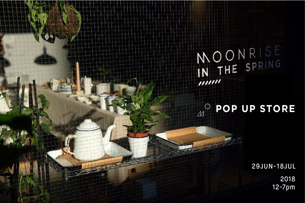 OUR POP UP STORE IN JULY AT THE SPRING IS HERE
