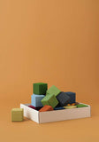 RADUGA GREZ - Earth Colors Cubes set, 20 cubes