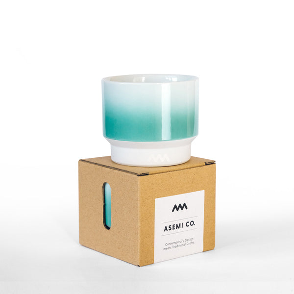 Asemi Hasami cups: Small - Mint