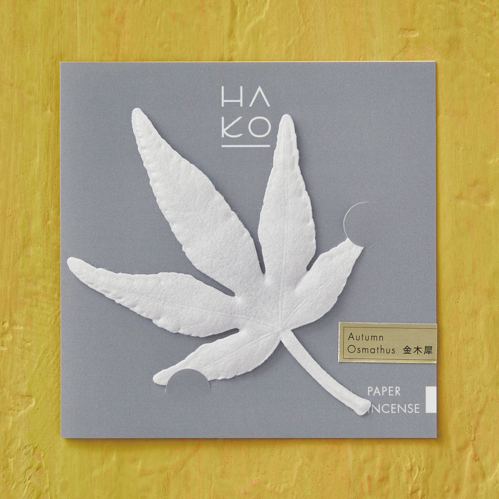HA KO Paper Incense -  Autumn Osmathus Kanagi
