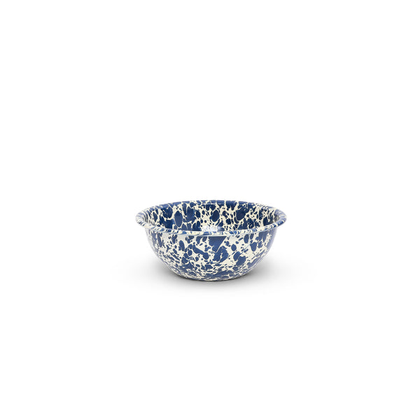 Crow Canyon Home  - Enamelware Cereal Bowl -Navy Marble