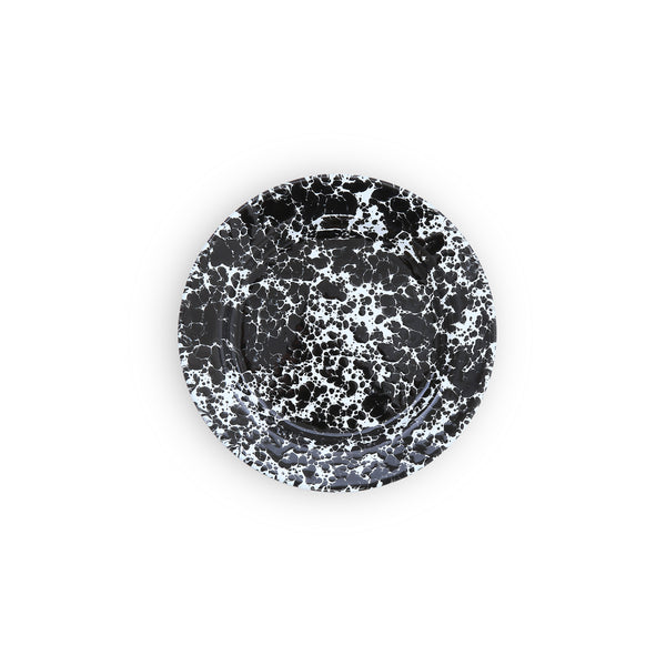 Crow Canyon Home Flat Salad Plate Black Marble