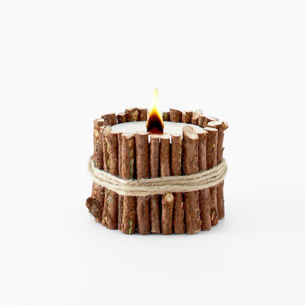 Cul de Sac Japon - Hiba wood candle Type 02
