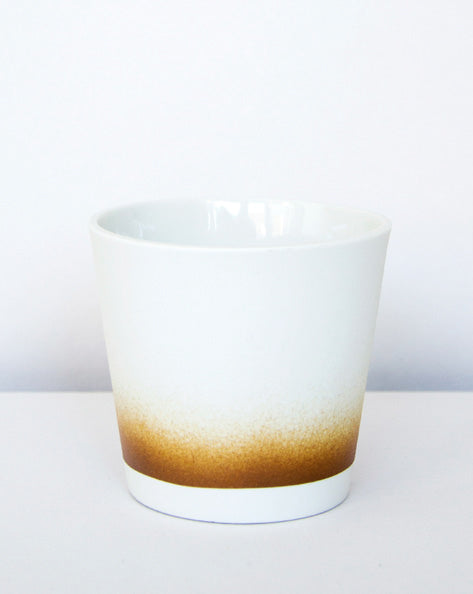 Kirstie van Noort Cornwall Coffee Cup-  Brown