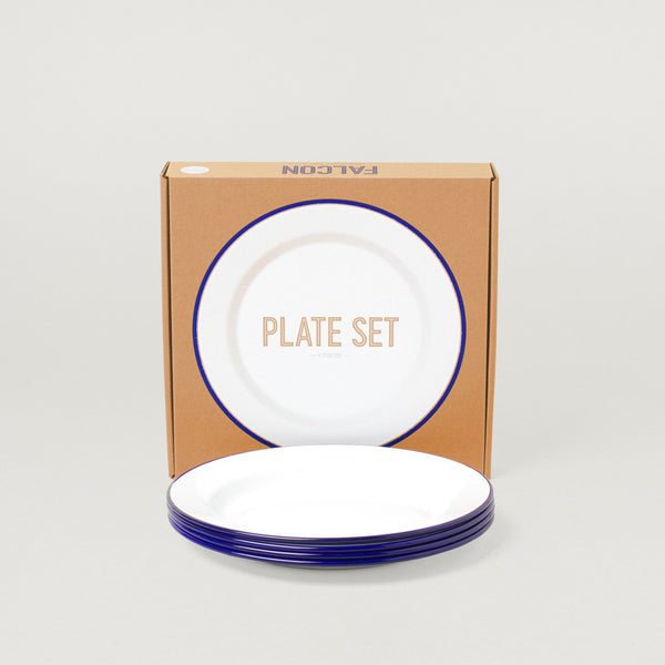 FALCON 24CM PLATE SET- BLUE