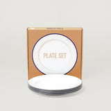 FALCON 24CM PLATE SET- GREY