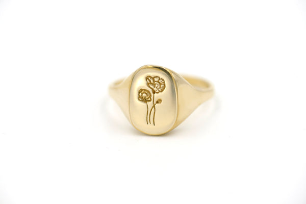 Botanical Collection - Poppy Signet