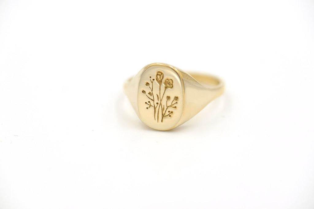 Botanical Collection - Wildflower Signet