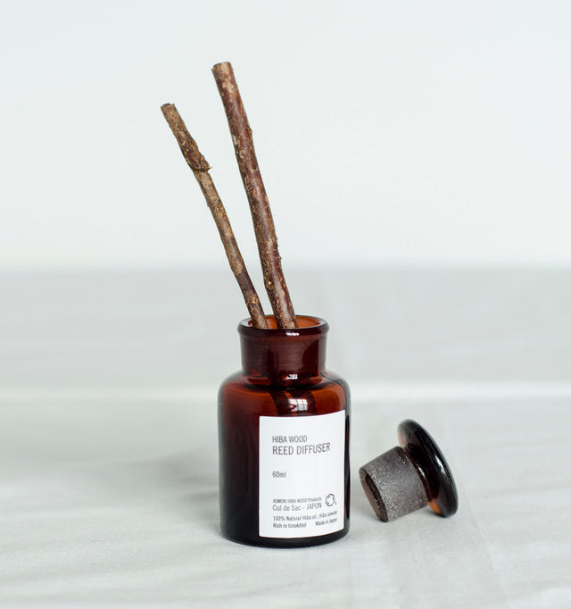 Cul de Sac - Japon  Hiba Wood reed diffuser