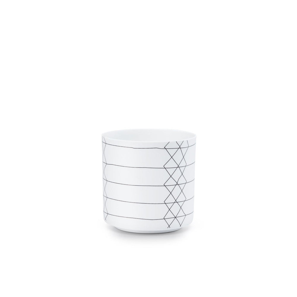 FEST BRIGHT STRIPE POT/ CANDLE HOLDER