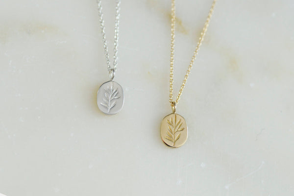 Claus Jewelry - Olive Branch Pendant