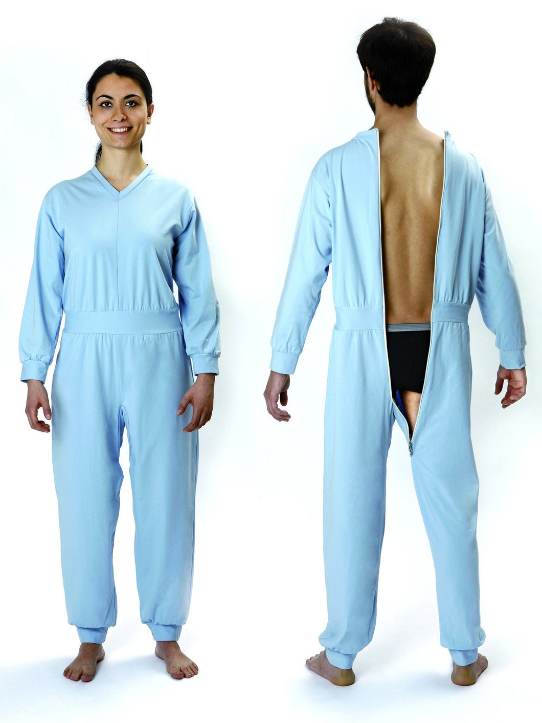 Pijama Sanitario color Azul Claro Art.7888