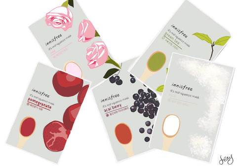 Glowmo Korean Sheet Masks