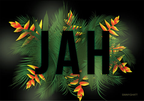 Carribbean 'Jah' Leaves - By Simmy Ghatt