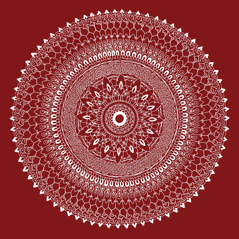 Thai Fusion Mandala - by Simmy Ghatt