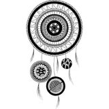 Tribal Mandala Dreamcatcher