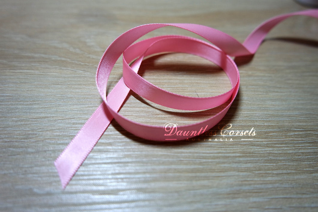 Ribbon Replacement Corset Laces - Baby Pink