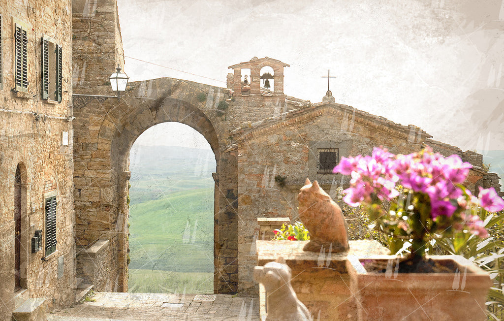 One afternoon in Volterra