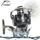 12+1BB Fishing Reels 1000 -10000 Spinning 5.2:1 Speed ratio Coarse Fishing Tackle Lightweight - Markand Design
