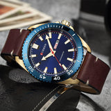 CURREN Luxury watch men Leather Quartz Wrist Watches