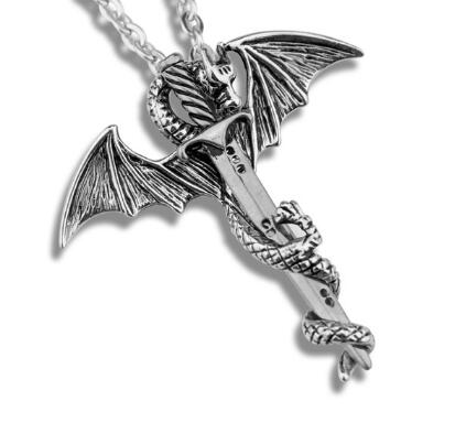 Game of Throne Necklace Flying Dragon With Wings