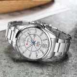 Curren Men wristwatches casual quartzwatch water Resistant 8271