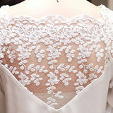Ladies Girl Women 3\4 Sleeve Lace Hollow Casual Chiffon Blouse Crop Tops S4