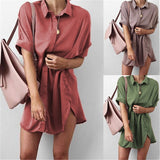 Short Sleeve Maternity V-neck chiffon blouse summer fashion casual solid Color shirts loose tops Casual Clothes