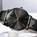 Mens Watches Ultra-thin Wrist Watch Clock Luxury Watch