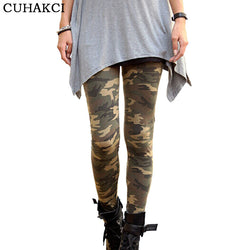 Brand Women Leggings High Elastic Skinny Camouflage Legging Spring Autumn Leggins Slimming Women Leisure Pant - Markand Design