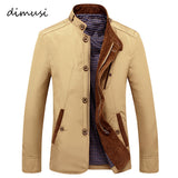 Autumn Bomber Men's Jacket Male Overcoat Casual Solid Jacket Slim Fit Stand Collar Zipper Men Jackets Coat 4XL,TA008