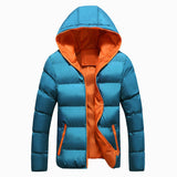 Men Winter Jacket Fashion Hooded Thermal Down Cotton Parkas Male Casual Hoodies Windbreaker Warm Coats 5XL