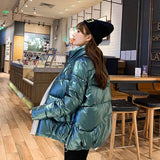 Down jacket women winter coat winter jacket Winter jacket female 2020 winter new small jacket collar padded coat 2065S