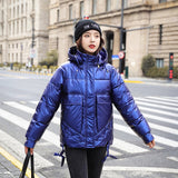 Down parka 2020 New Winter Parkas High Quality Hooded Coat Women Fashion Jackets Winter Warm Woman Clothing Casual Jacket 819