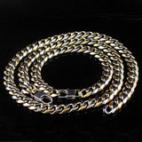 Bracelet Necklace Twist Jewelry Sets Fashion Stainless Steel - Markand Design