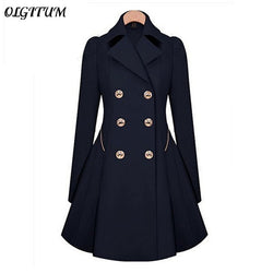 Hot Sale New Spring/Autumn Trench Coat Women  Classic Slim Thin Coat Windbreaker Fashion Trench Female Long Overcoat S-4XL