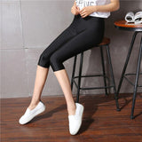 Hot Summer autumn Fashion leggings Women's sunlight shiny capris Leggings Mid-Waist Slim Elastic shinny Leggings lage plus size