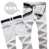 Luxury Brand Straight Business Casual Men Pants High Quality Designer Spring Autumn Elegant Male Leisure Long Trousers