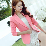 Long-sleeved Slim Blazer  Office Suits For Women Ladies Blazer Jacket Blazer