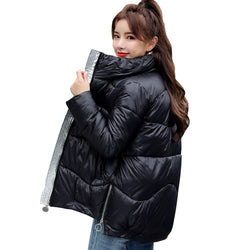 Women winter coat warm jacket down jacket women parka short 2020 women's new winter down jacket 1082