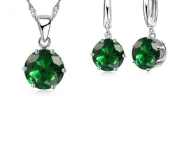17 Colors 925 Sterling Silver Cubic Zirconia Water Ball