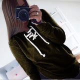 Women Sweatshirt Autumn Hoodies Long Sleeve Harajuku Hoodied Casual Pullover Female Sweatshirts