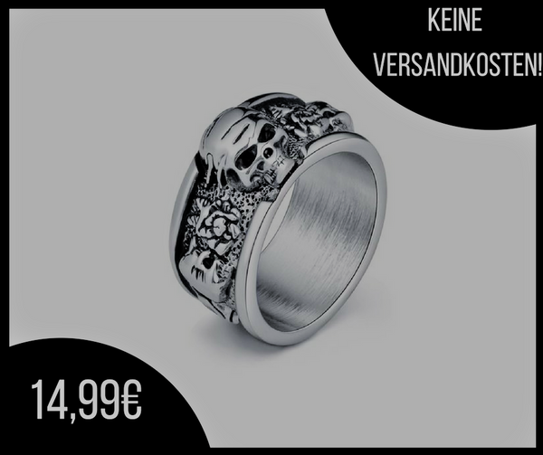 Deaths Head Ring