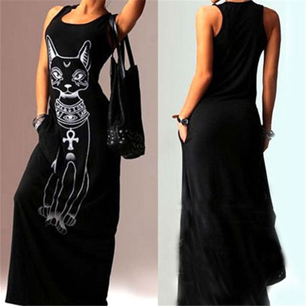 Dark Cat Dress