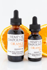 Hemp Oil Compound - Orange