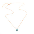 Circum Evil Eye Necklace