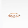 Rosie Clear Quartz Rose Gold Ring